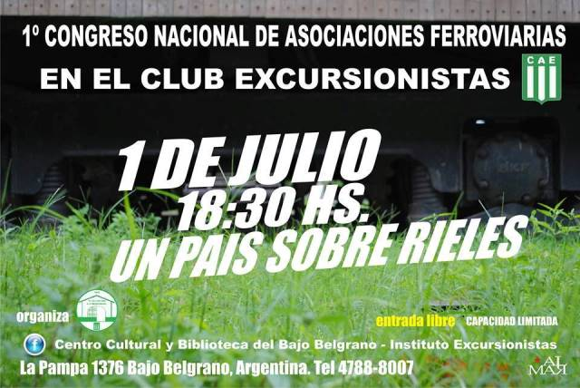 JORNADA DE CONFERENCIAS EN EXCURSIO