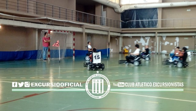 Excursionistas tendrá un equipo de Powerchair Football