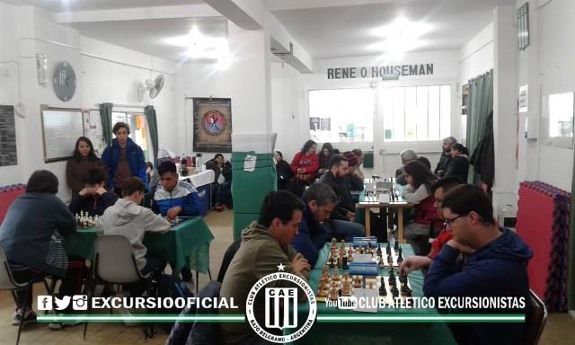 Gran jornada de Ajedrez se vivió en la tarde del sábado en el Bajo Belgrano.