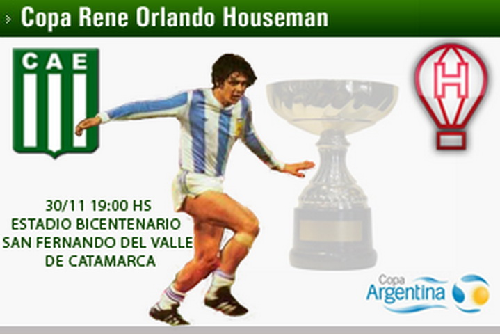 EXCURSIONISTAS VS. HURACÁN: COPA RENÉ O. HOUSEMAN